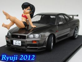 Tamiya R34 GT-R 01 by celsoryuji