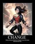Wonderwoman Change by TopcowImage2dF