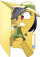 Custom Daring Do folder icon 2 by Blues27Xx