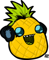 Modez the Pineapple by FranckyFox2468