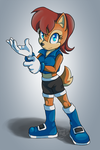 .: Commission : Sally Acorn :. by carriepika