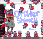 Drifter Shimeji! by NightMargin