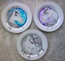 Horse Plate Commission by animeangel07
