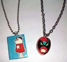 HSR - tattoo necklaces by ShiversTheNinja
