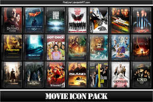Movie Icon Pack 13 by FirstLine1