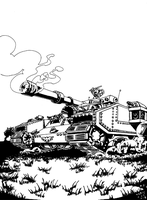 Loli Loev Tank by HessianD