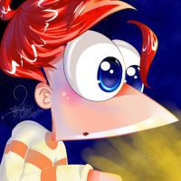 Phineas's Reaction To PuffedWarrior by PhinabellaPhan