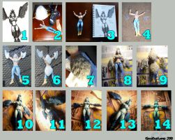 WoW Harpy Figure Tutorial by thatg33kgirl