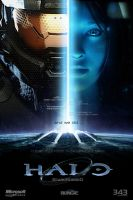 Halo Masterchief/Cortana Fan Art: Starcrossed by rs2studios