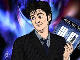 10th Doctor by thepope1932