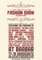 Fashion Show Poster by JamesRandom