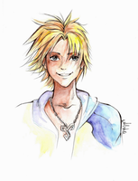 Final Fantasy X: Tidus by Princess--Ailish