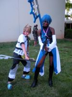 AnimeNext'10 - Ven and Aqua by Rose-Vicious