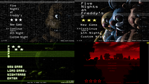 The Five Nights at Freddy's Games by LSilvaPT