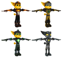 Ratchet and Clank: ToD - Armor Pack by o0DemonBoy0o