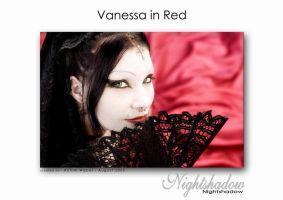 Vanessa in Red by Nightshadow-PhotoArt