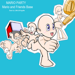 Mario Party Base by LittleSuffragette