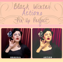 Black Winter Actions - Pin Up Perfect by blackxwinter