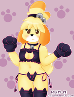 Isabelle Kitty Lingerie by Pgm-M