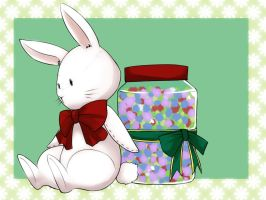 CLAC:Gift: Little Bunny and Confetti by kairikazu