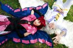 Cardcaptor Sakura - Ruby x Yue by Xeno-Photography
