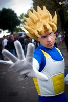 Cosplay Goku Ssj battle suit by Alexcloudsquall