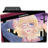 Kagamine Rin Folder Icons by NekoRoklyne