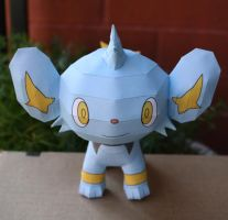 Shinx Pokemon PAPERCRAFT by Mee-Lin