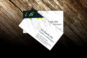 My bussiness card by petrsimcik
