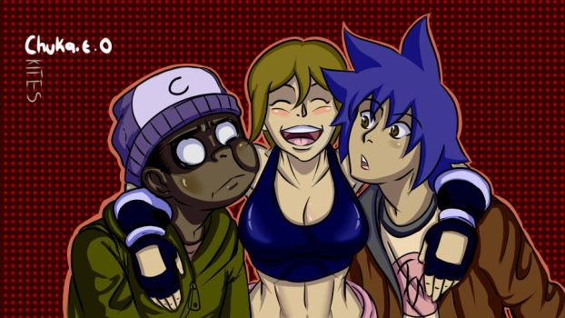Lia, Incer and I by Kites1224