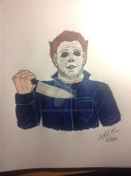 Michael Myers from Halloween by DarthGaber