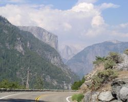 The Road to Half Dome by MartinS819