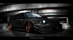 Impreza Nero d'inferno by AeroDesign94