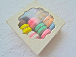 Assorted Macarons 3 by AGTCT