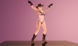 Tina Armstrong - Cowgirl Showtime - 02 by HentaiAhegaoLover