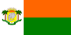 Alt Flag - Republic of Cote d'Ivoire by AlienSquid
