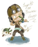 One Piece Chibi_Usopp by Koret-Sirsep