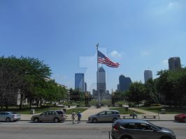 A view of Indianapolis by jimiraj