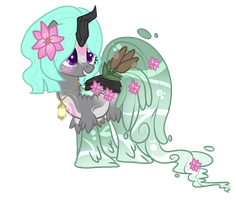 Fairy Garden Waterfaller Adopt (closed) by AzrealRou