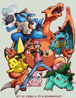 SSBBrawl: Pokemon Team