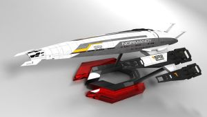 Normandy SR2 Cerberus Stand 4 by CKuhn