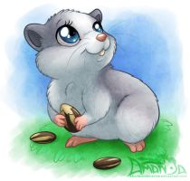 Lilo the Hamster by AmandaDaHamster