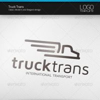 Truck Trans Logo by artnook