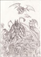 The Batman/Darkness by nic011