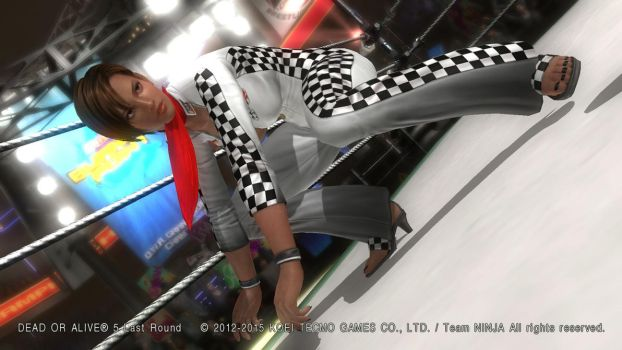 DEAD OR ALIVE 5 Last Round  Lisa14 by aponyan