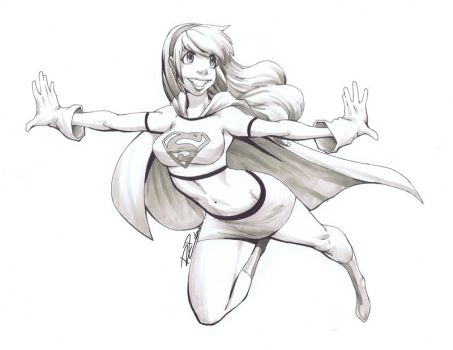 Fly Away, Supergirl by Robaato