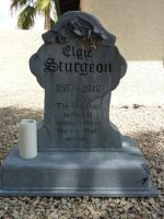 Elgie Sturgeon Headstone by thatjonesgirl