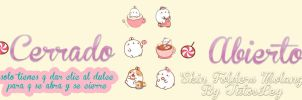 Skin XWidget Folders Molang by leyfzalley