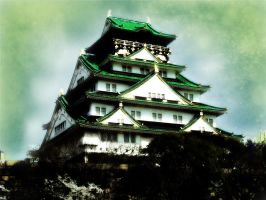 Dreamy OsakaCastle by Slotigork
