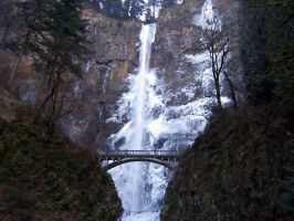 Frozen Multnomah by Rhov